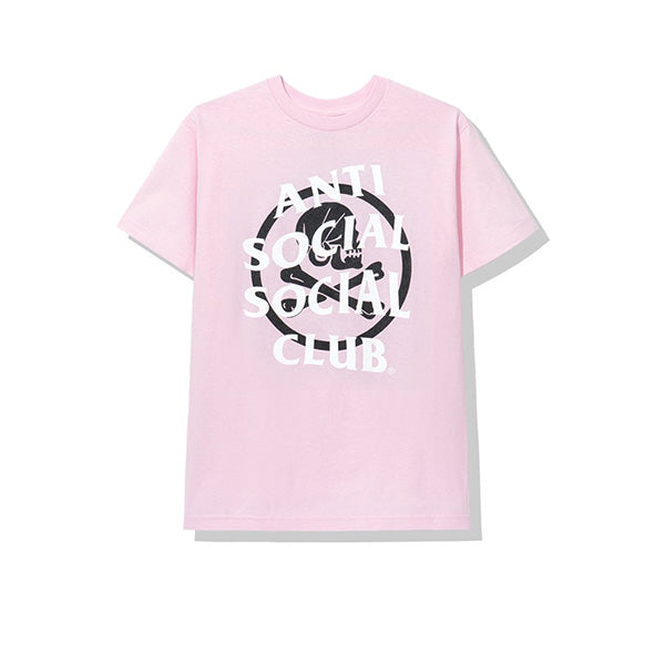 NEIGHBORHOOD X ANTI SOCIAL SOCIAL CLUB CAMBERED TEE PINK