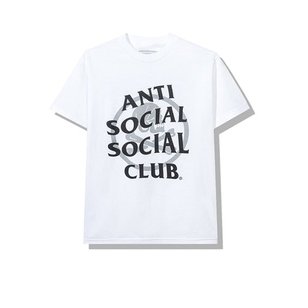 NEIGHBORHOOD X ANTI SOCIAL SOCIAL CLUB CAMBERED TEE WHITE