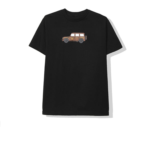 ANTI SOCIAL SOCIAL CLUB BROWNIE TEE BLACK