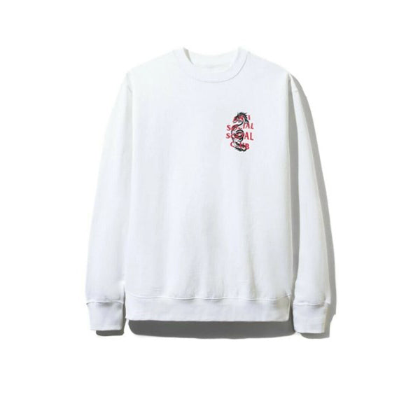 ANTI SOCIAL SOCIAL CLUB GARDEN GROVE CREWNECK WHITE