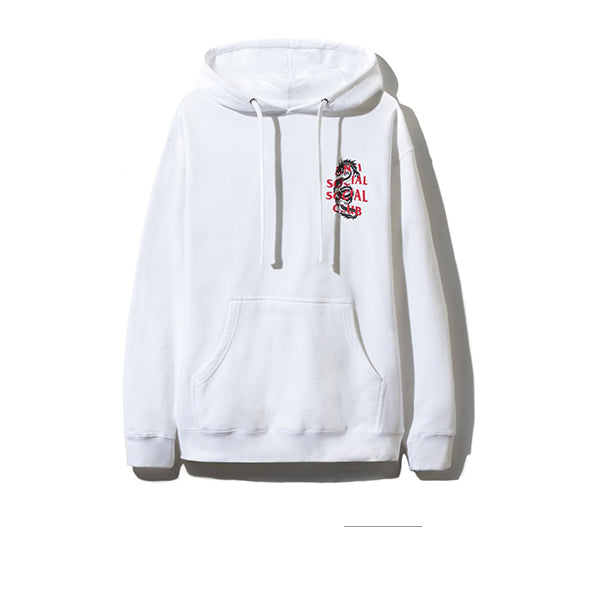 ANTI SOCIAL SOCIAL CLUB GARDEN GROVE HOODIE WHITE