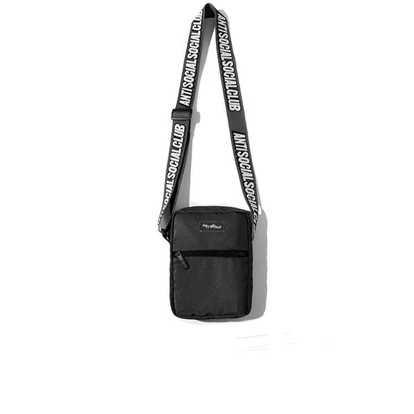 ANTI SOCIAL SOCIAL CLUB GET WEIRD SIDE BAG BLACK