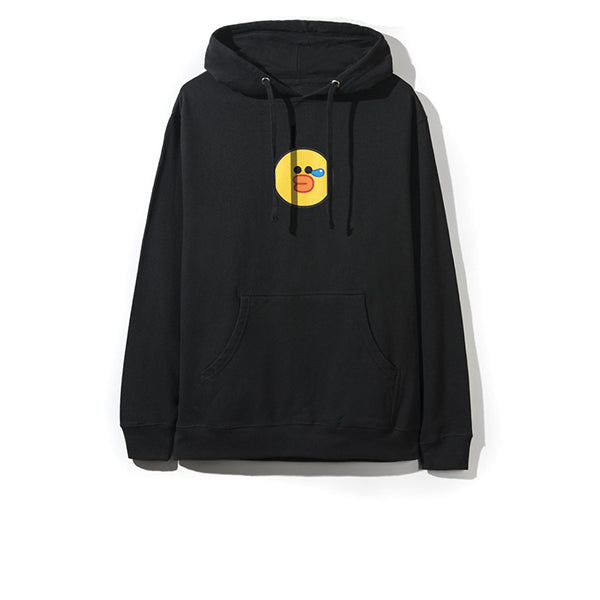 ANTI SOCIAL SOCIAL CLUB LINE SALLY DUCK HOODIE BLACK
