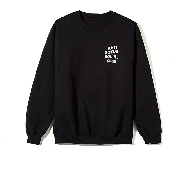 ANTI SOCIAL SOCIAL CLUB MIND GAMES CREWNECK BLACK