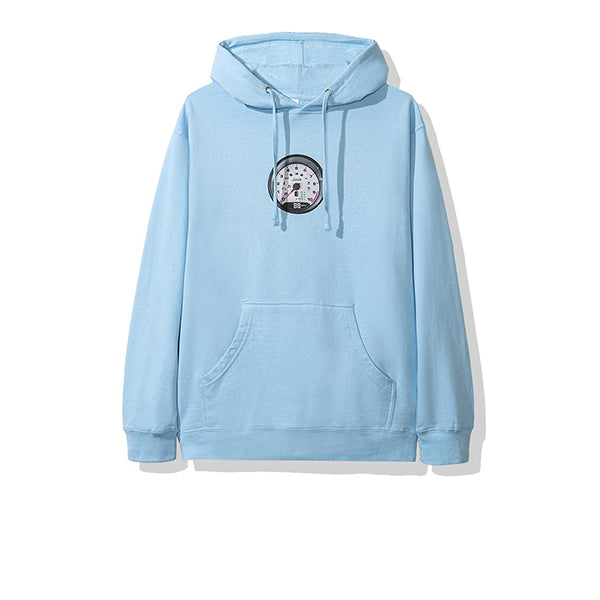ANTI SOCIAL SOCIAL CLUB STRAIGHT PIPE HOODIE BLUE