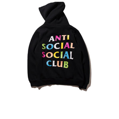 "ANTI SOCIAL SOCIAL CLUB x FRENZY HOODIE ""BLACK"""