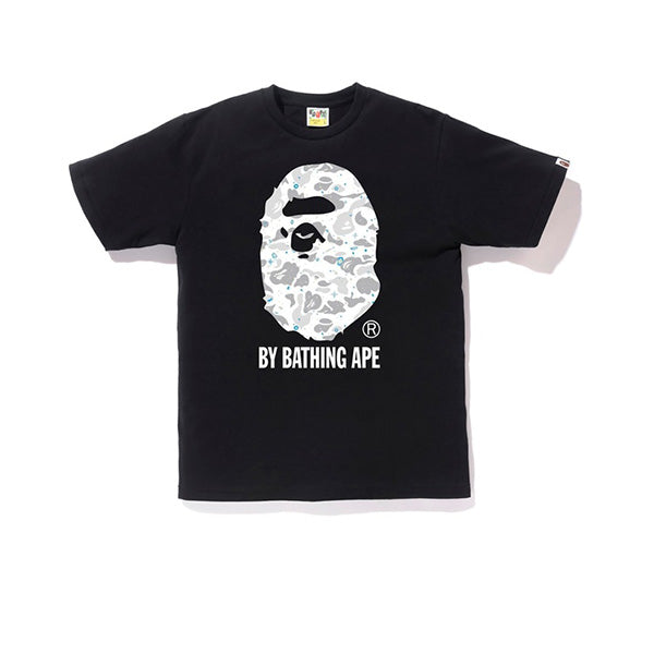 BAPE SPACE CAMO BY BATHING TEE BLACK