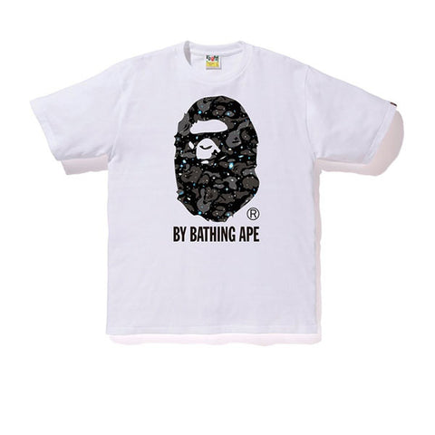 BAPE SPACE CAMO BY BATHING TEE WHITE SS19