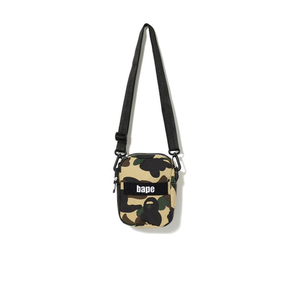 BAPE 1ST CAMO MILITARY SHOULDER BAG YELLOW SS19
