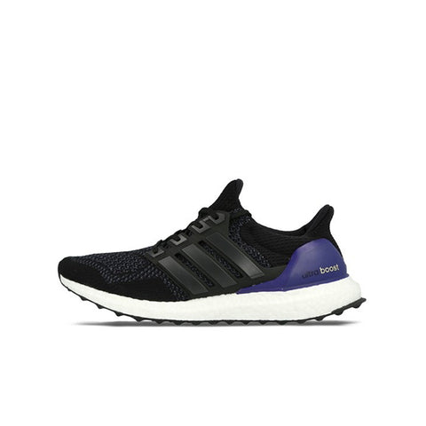 "ADIDAS ULTRA BOOST 1.0 OG ""BLACK GOLD PURPLE"" 2015 B27171"