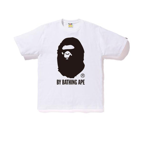BAPE BICOLOR BY BATHING TEE WHITE SS19