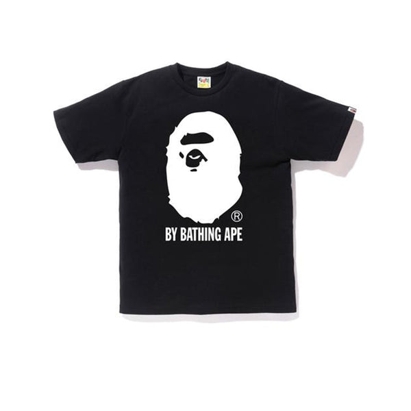 BAPE BICOLOR BY BATHING TEE BLACK SS19