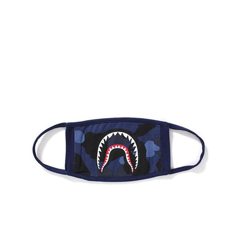 BAPE COLOUR CAMO SHARK MASK BLUE