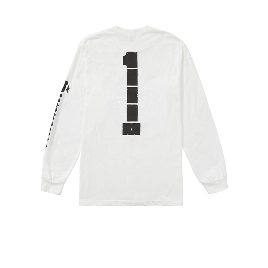 SUPREME ICHI THE KILLER Long Sleeve TEE WHITE SS20