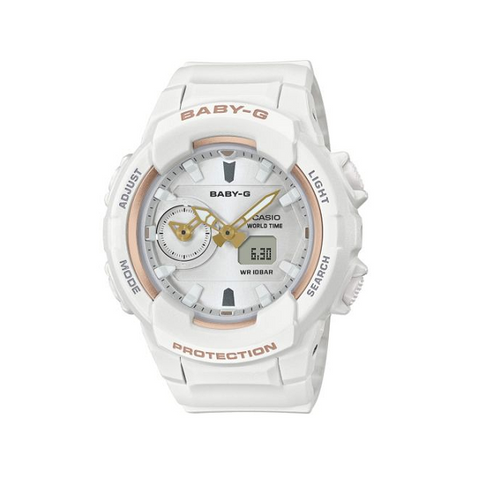 CASIO BABY G WHITE WATCH BGA230SA-7A