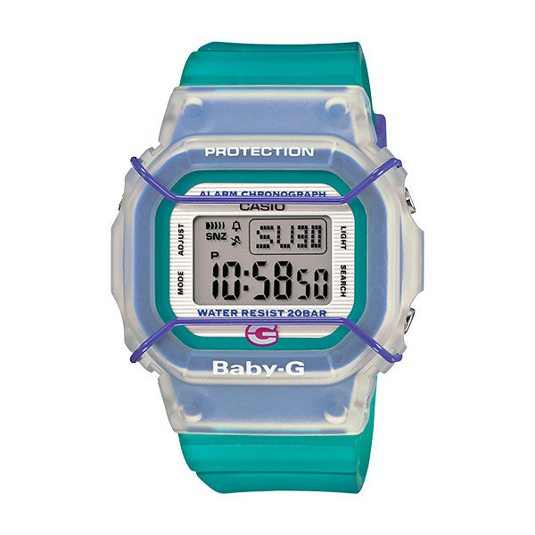 Casio Baby-G 20th Anniversary Sports Face Protector - Green BGD500-3