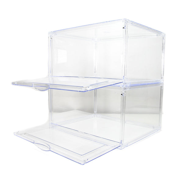 W&W SNEAKERS STORAGE/DISPLAY BOX (2 BOXES BUNDLE)