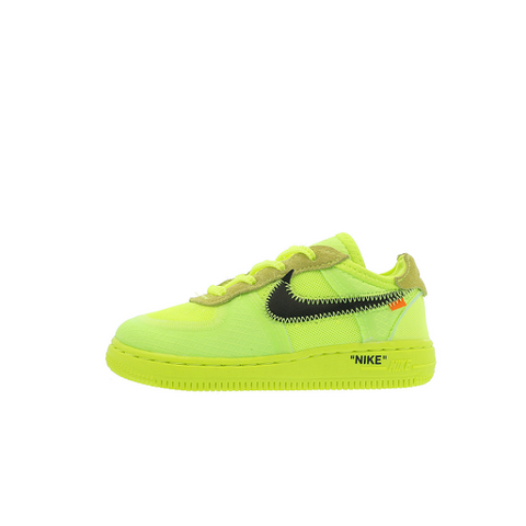 "NIKE AIR FORCE 1 LOW TD OFF-WHITE ""VOLT"" 2018 BV0853-700"