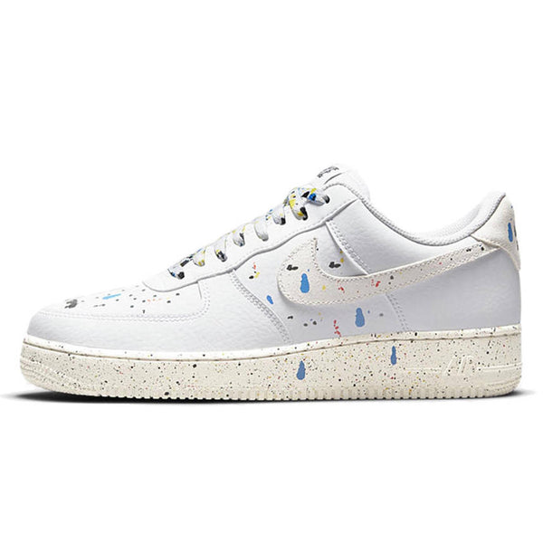 NIKE AIR FORCE 1 LOW 07 LV8 PAINT SPLATTER WHITE 2021
