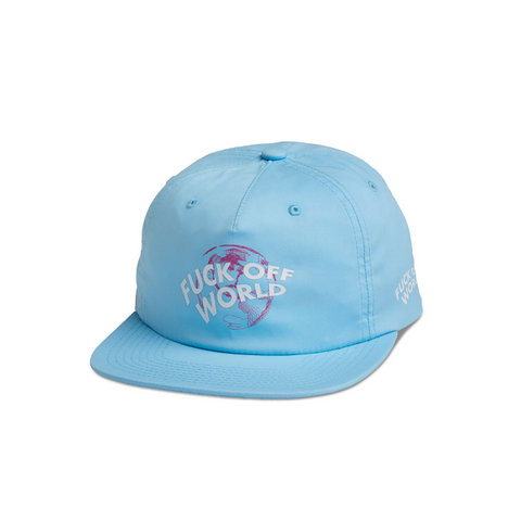 "DIAMOND SUPPLY CO. GET ME OUT OF HERE DECONSTRUCTED STRAPBACK CAP ""LIGHT BLUE"""