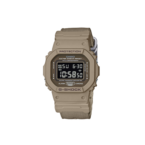 CASIO G-SHOCK DIGITAL WATCH KHAKI DW5600LU-8
