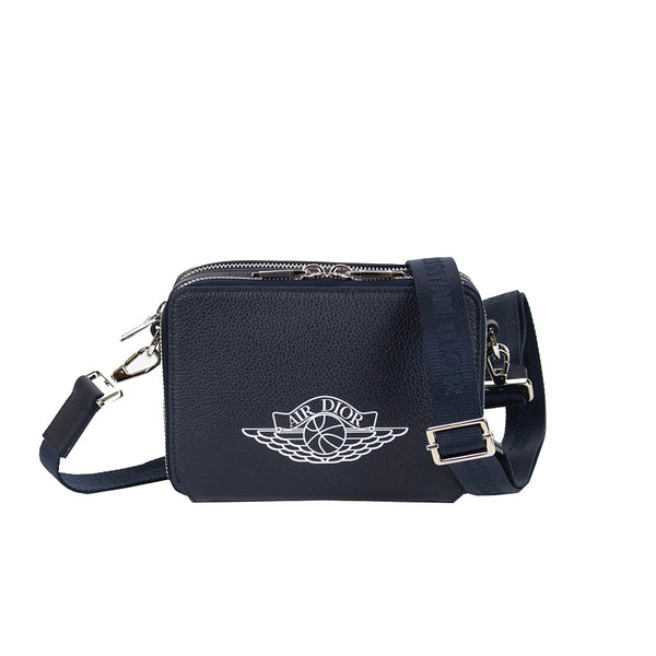 AIR DIOR WINGS MESSENGER BAG NAVY