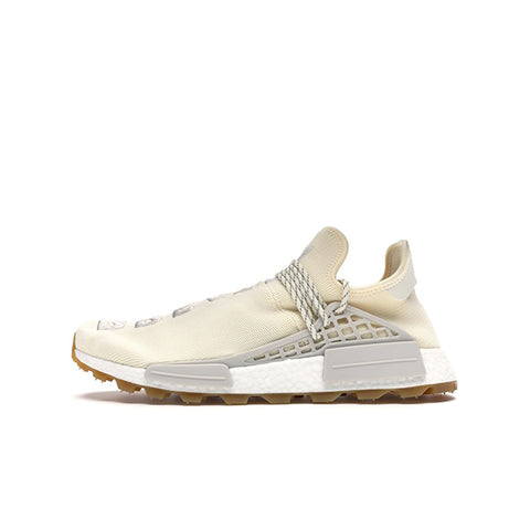 "ADIDAS NMD HU TRAIL PHARRELL ""NOT IS HER TIME CREAM WHITE"" 2019 EG7737"