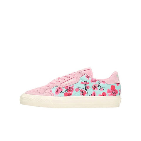 "ADIDAS CONTINENTAL 80 VULC WMNS ""ARIZONA ICED TEA FLOWER"" 2019 EG7977"