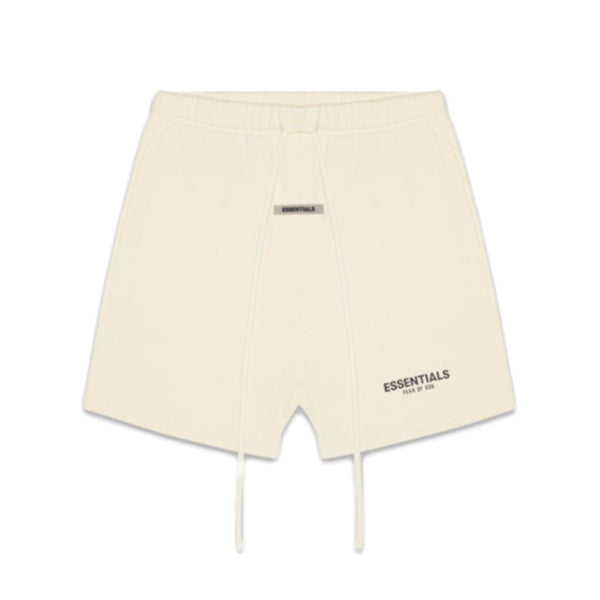 FEAR OF GOD ESSENTIALS FLEECE SHORTS BUTTER CREAM