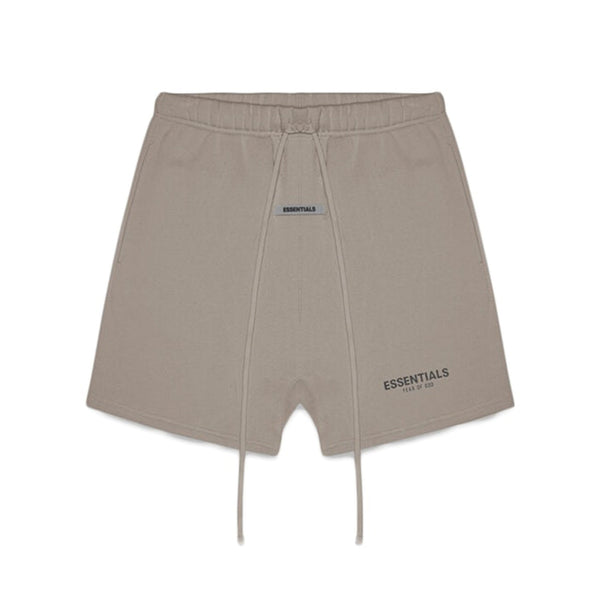 FEAR OF GOD ESSENTIALS FLEECE SHORTS TAUPE UMBER