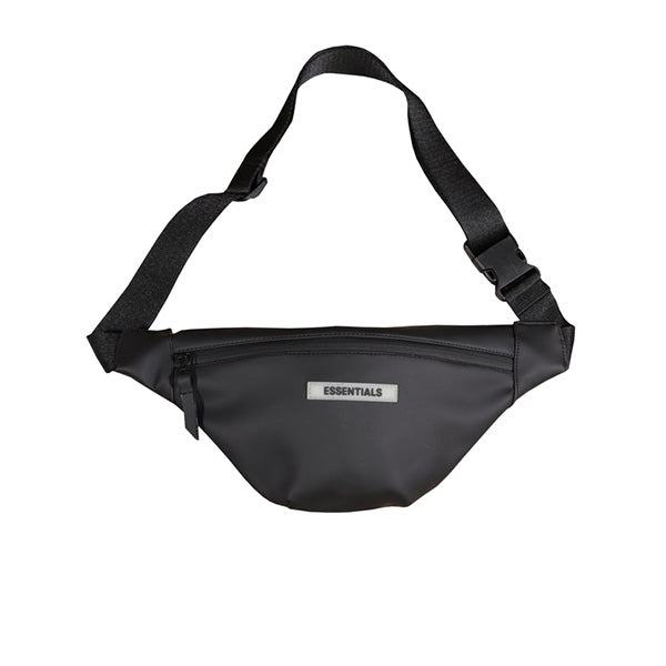 FEAR OF GOD ESSENTIALS WATERPROOF SLING BAG BLACK FW19