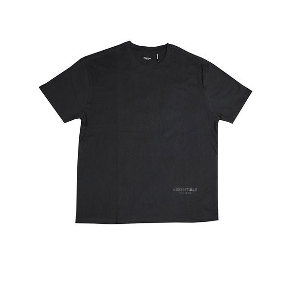 FEAR OF GOD ESSENTIALS 3M LOGO BOXY TEE BLACK