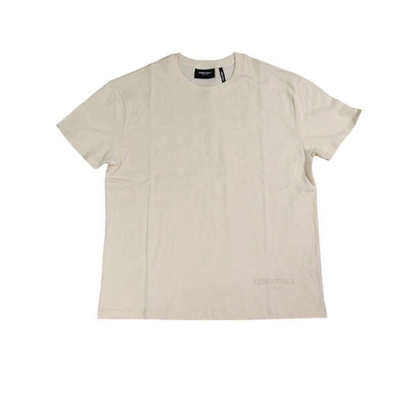 FEAR OF GOD ESSENTIALS 3M LOGO BOXY TEE BUTTER CREAM