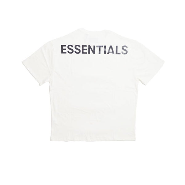 FEAR OF GOD ESSENTIALS 3M LOGO BOXY TEE WHITE