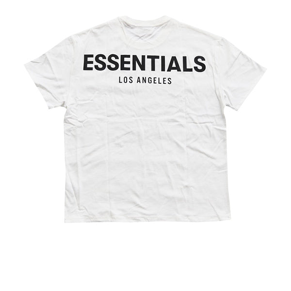 FEAR OF GOD ESSENTIALS LOS ANGELES 3M BOXY T-SHIRT WHITE