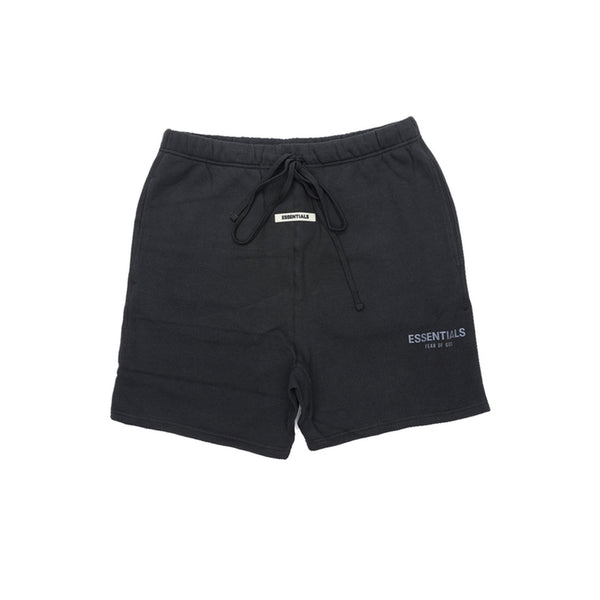 FEAR OF GOD ESSENTIALS SWEAT SHORTS BLACK/BLACK