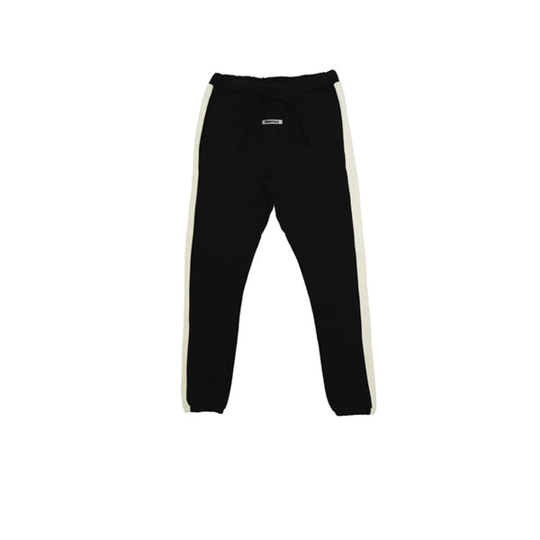 FEAR OF GOD ESSENTIALS SIDE STRIPE SWEATPANTS BLACK FW19