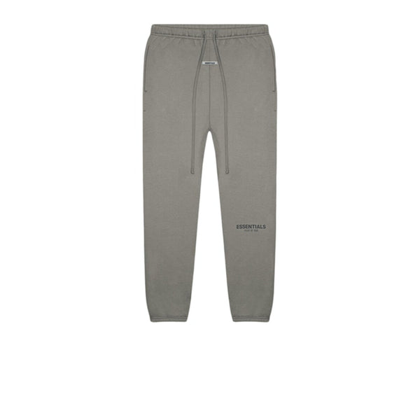 FEAR OF GOD ESSENTIALS SWEATPANTS GRAY FLANNEL CHARCOAL SS20