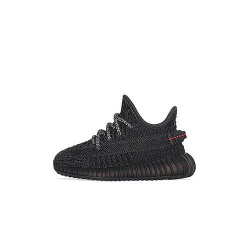 "ADIDAS YEEZY BOOST 350 V2 TD ""BLACK (NON-REFLECTIVE)"" (INFANT) 2019 FU9011"