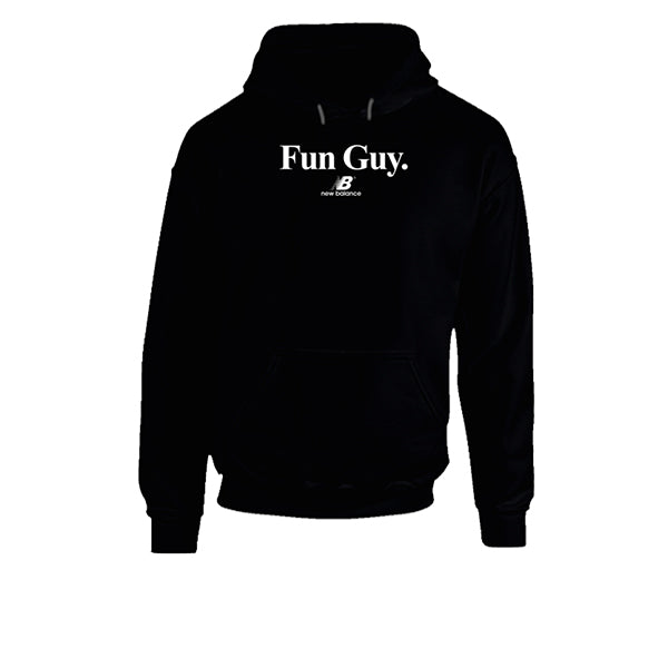 NEW BALANCE KAWHI LEONARD FUN GUY HOODIE BLACK