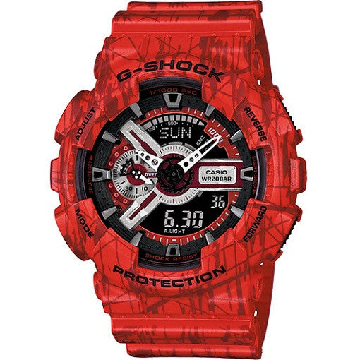 Casio G-Shock Slash Pattern Series GA110SL-4A