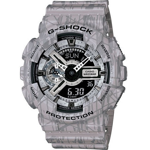 Casio G-Shock Slash Pattern Series GA110SL-8A