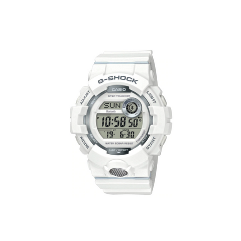 CASIO G-SHOCK G-SQUAD DIGITAL WATCH WHITE GBD800-7