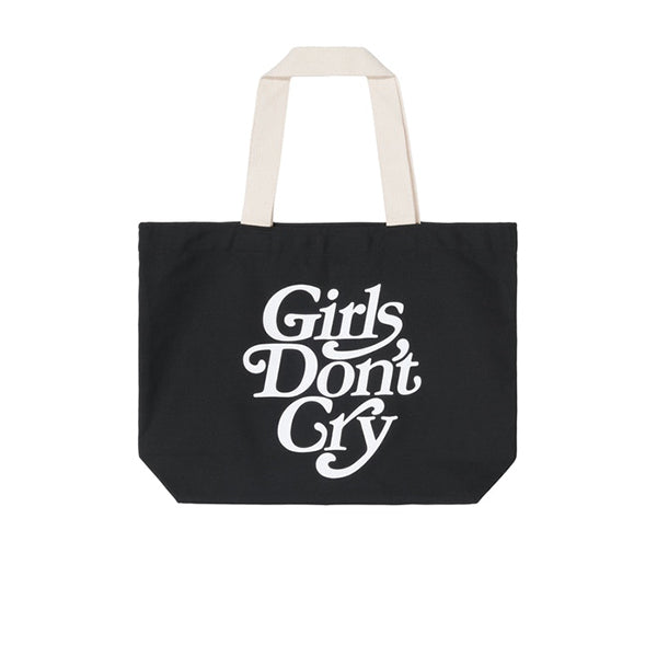 GIRLS DON'T CRY LOGO TOTE BAG BLACK