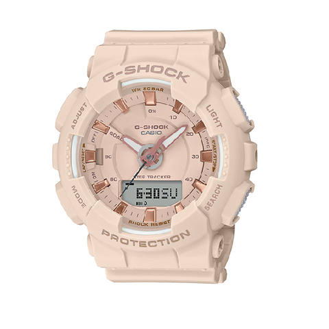 CASIO G-SHOCK WATCH BEIGE GMAS130PA-4A