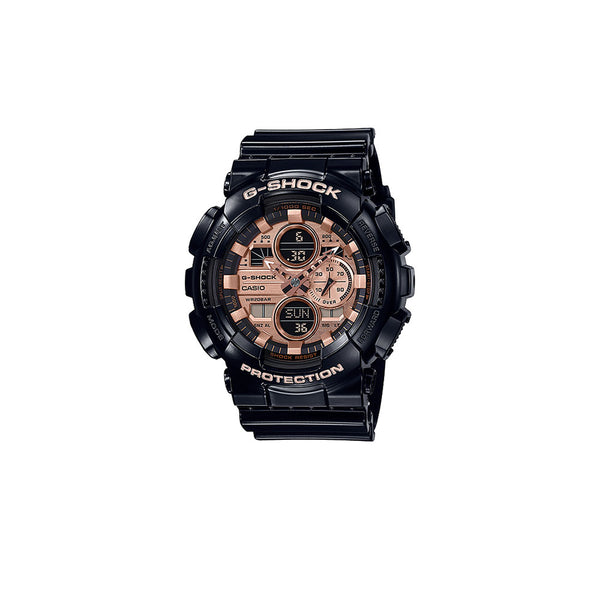 CASIO G-SHOCK GA140 GARISH ROSE GOLD  GA140GB-1A2