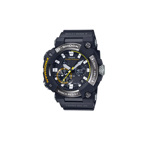 CASIO G-SHOCK FROGMAN ANALOGUE SOLAR WATCH IN BLACK GWFA1000-1A