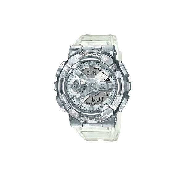 CASIO G-SHOCK SKELETON CAMOUFLAGE METAL SERIES GM110SCM-1A
