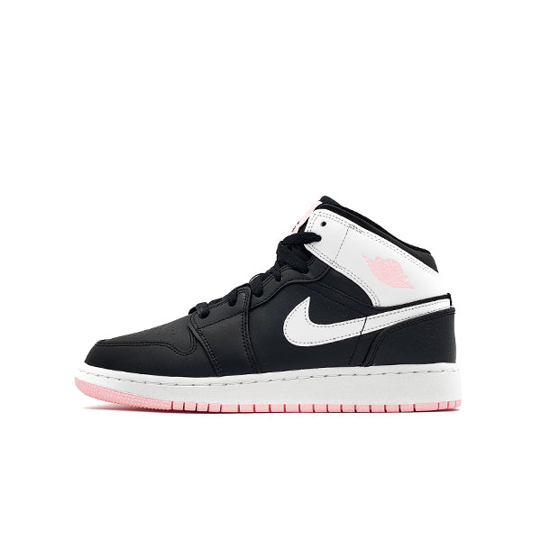 AIR JORDAN 1 MID ARCTIC PINK BLACK GS