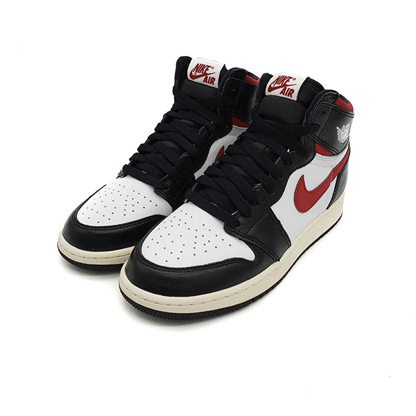 "AIR JORDAN 1 GS ""BLACK GYM RED"""